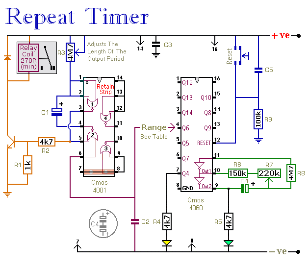 how to make off-on-off 555 timer