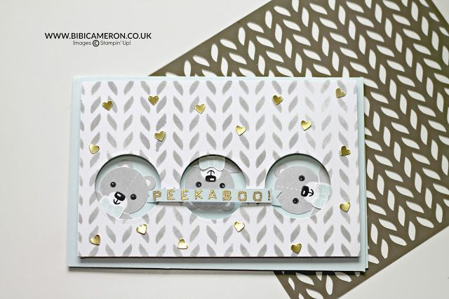 Stampin Up Seasonal Decorative Masks Endearing Baby Cards With Cookie Cutter Christmasstampin' Up Tgif#72 Design Decoration