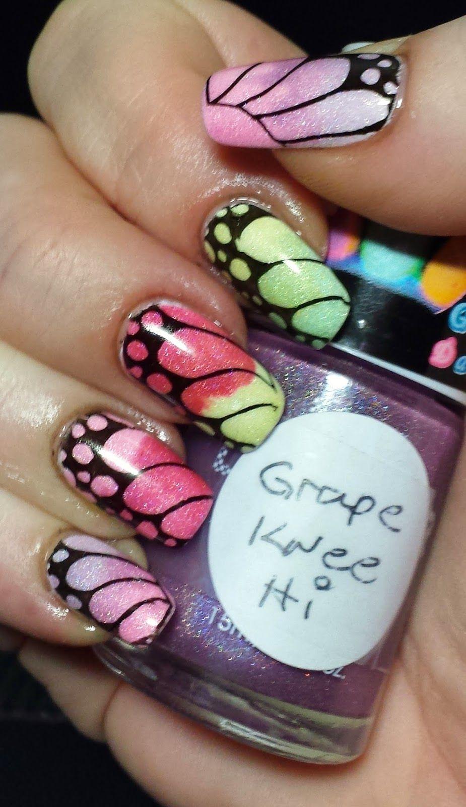 Inky Whisker\'s Musings: TGPNPC ~ Jelly | Nail Art - Animal Print ...