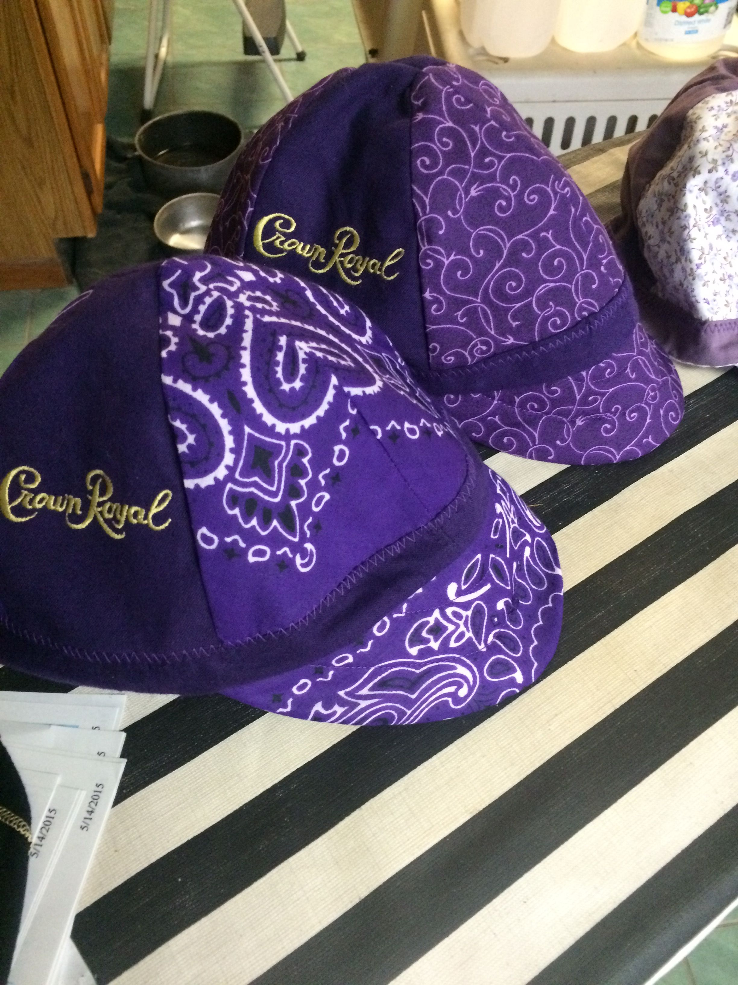 4933e44a17e Reversible Crown Royal Welding Cap Crown Royal Quilt