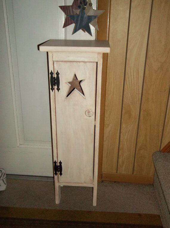Primitive Rustic Made To Order Wooden Toilet Paper Holder