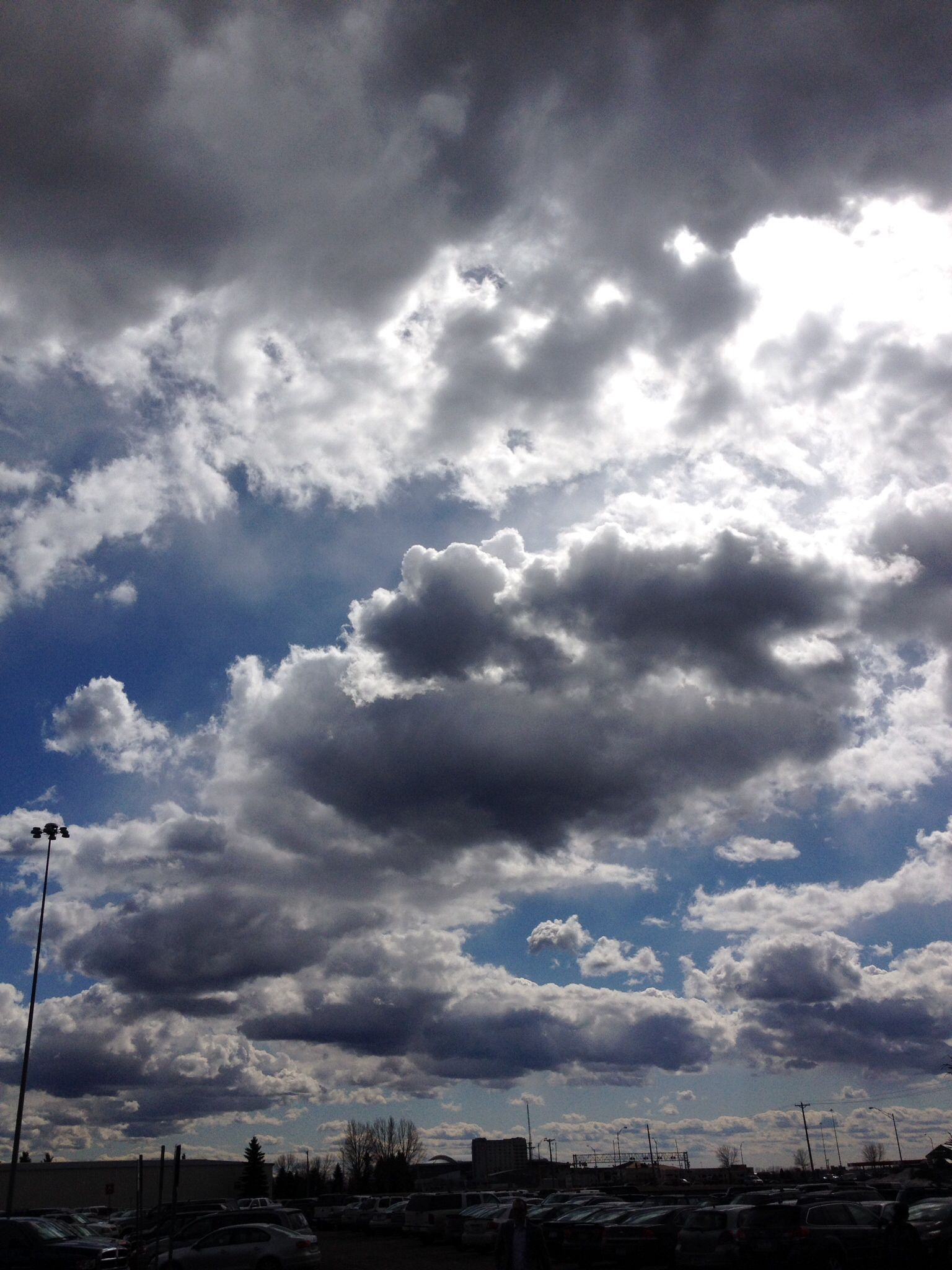 These Cumulus Clouds Formed By Convection A Warm Parcel