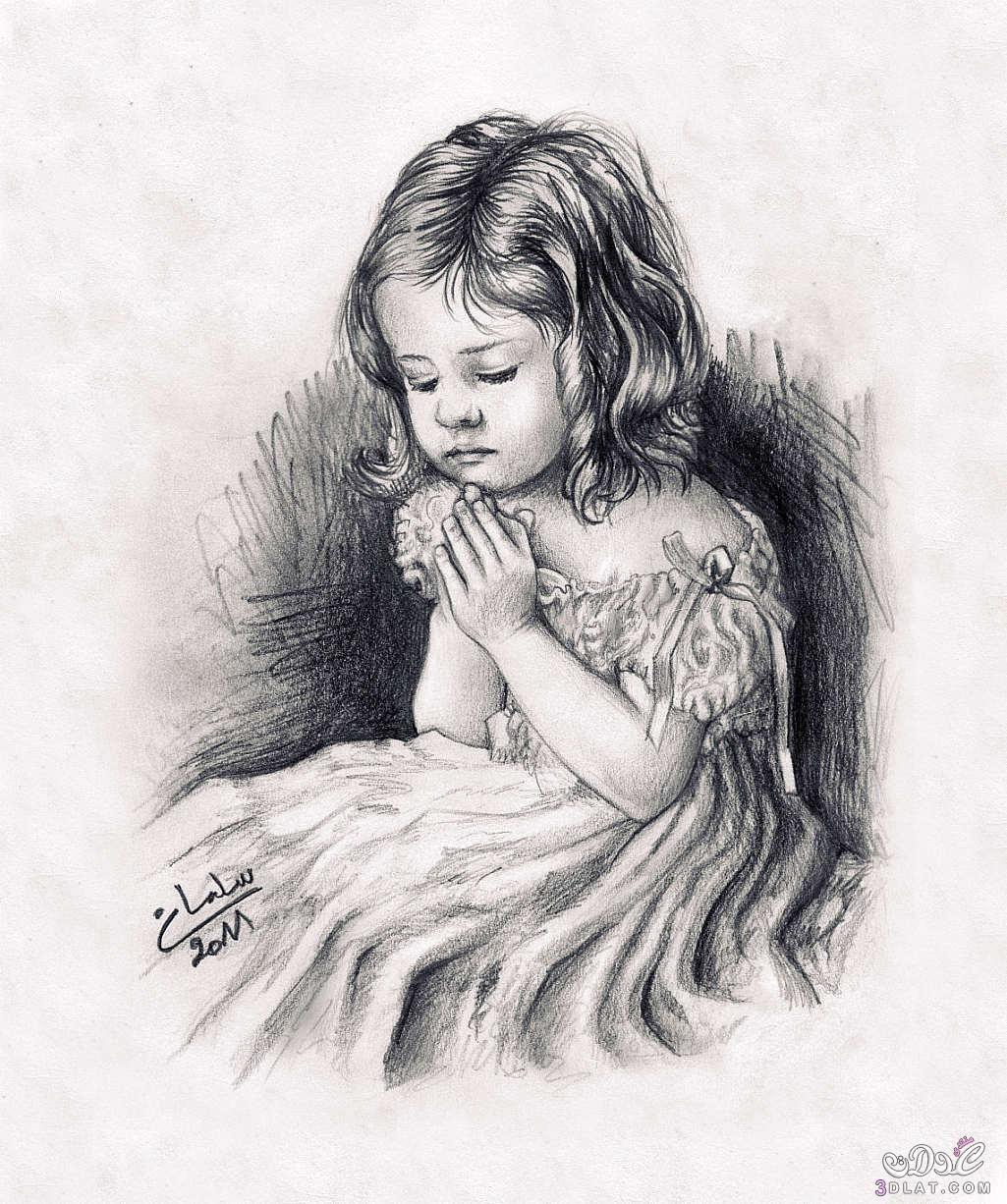 صور حب عشق رومانسيه مرسومه اجمل صور الحب الاطفال البنات المرسومه باليد صور حب ورومانسيه روعه Pencil Drawings Portrait Drawing Drawings