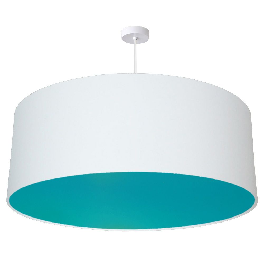 70cm Extra Large Oversize White Drum Shade With Choice Of Coloured Lining Drum Lampshade Drum Shade Fabric Lampshade