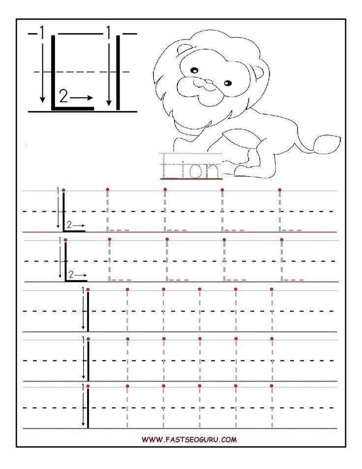 Image result for Letter L is for lego worksheet | LP_Prek Language ...