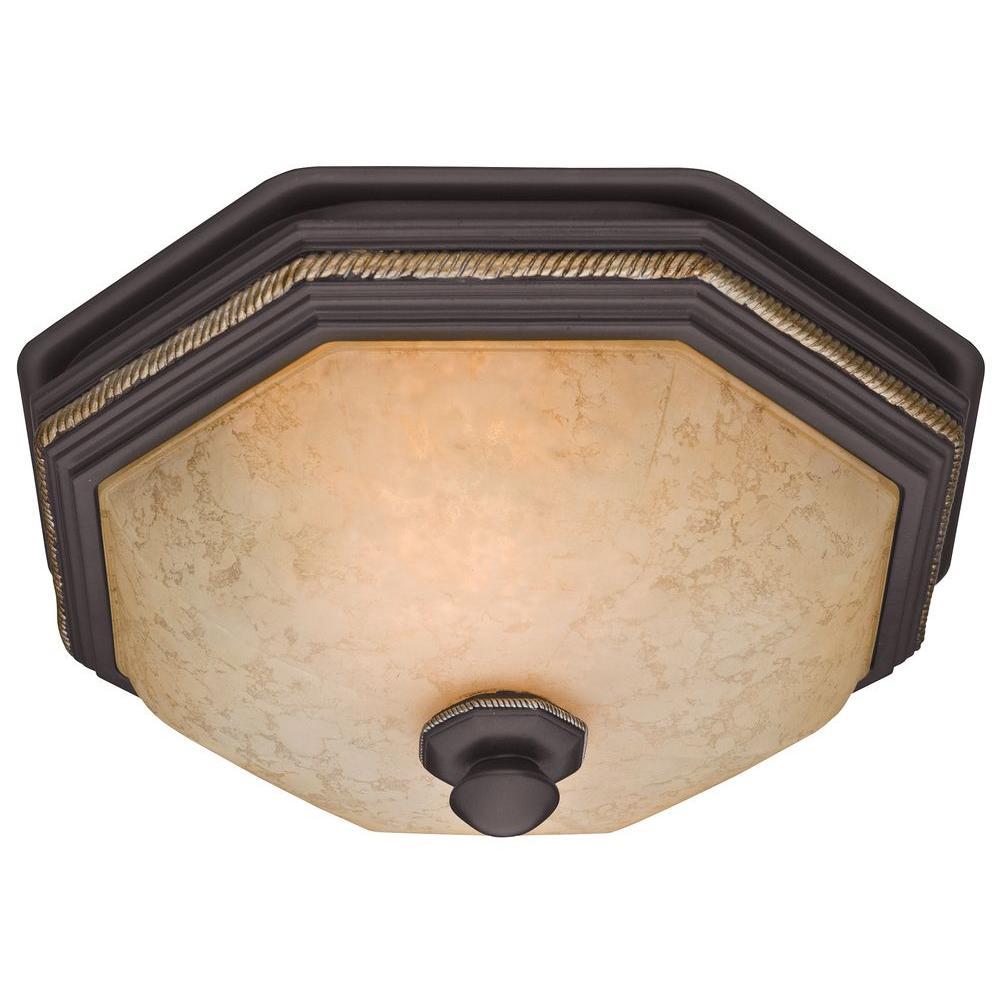 Hunter Belle Meade Decorative 80 Cfm Ceiling Bath Fan With