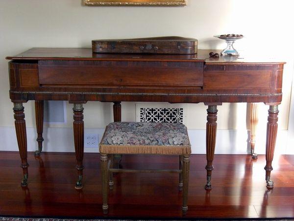 1815 Clementi Forte Piano - Shaffer Pianos - Restored Antique Pianos -  Square Pianos - 1815 Clementi Forte Piano - Shaffer Pianos - Restored Antique Pianos