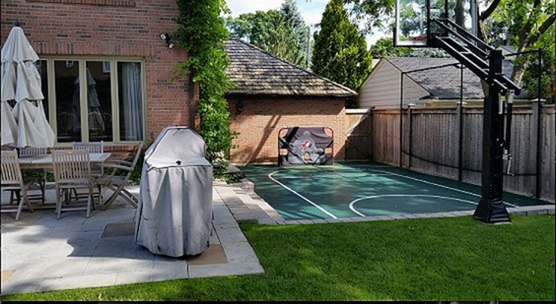 Backyard Court 16x26 Toronto in 2019 Backyard