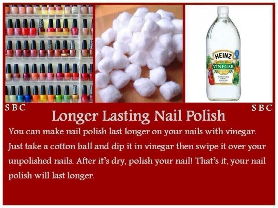 How to make nail polish last longer | nails | Pinterest | Make up ...