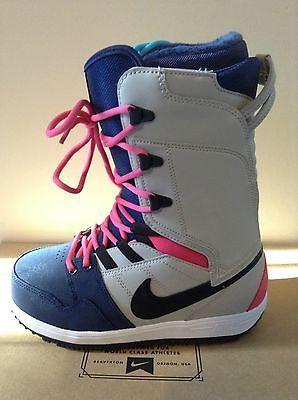 Nike Wmns Nike Vapen Granite Black Mid Navy Womens Snowboard Boots 6 2013  New | eBay