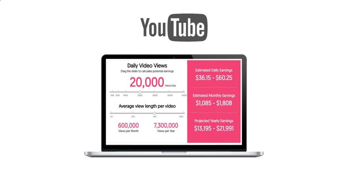 A great tool YouTube Money Calculator to look at Youtube Earnings - monthly time sheet calculator