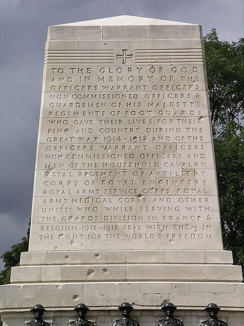 Guards Memorial , Horse Guards Parade