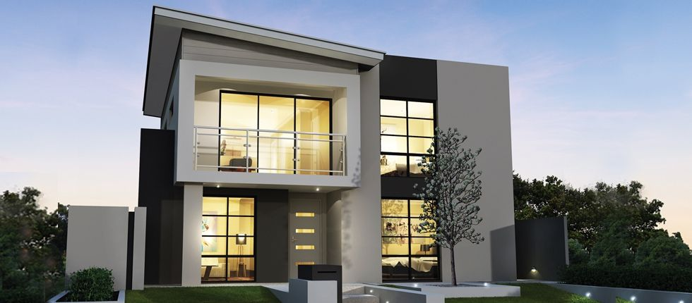 Bugatti two storey home designs and plans narrow lot for Narrow lot home designs perth