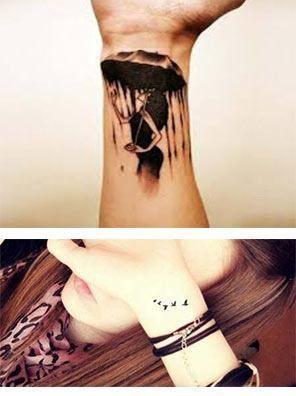 Tatuajes Para Mujeres En Las Muñecas Bonitos Tatuajes Tatuajes