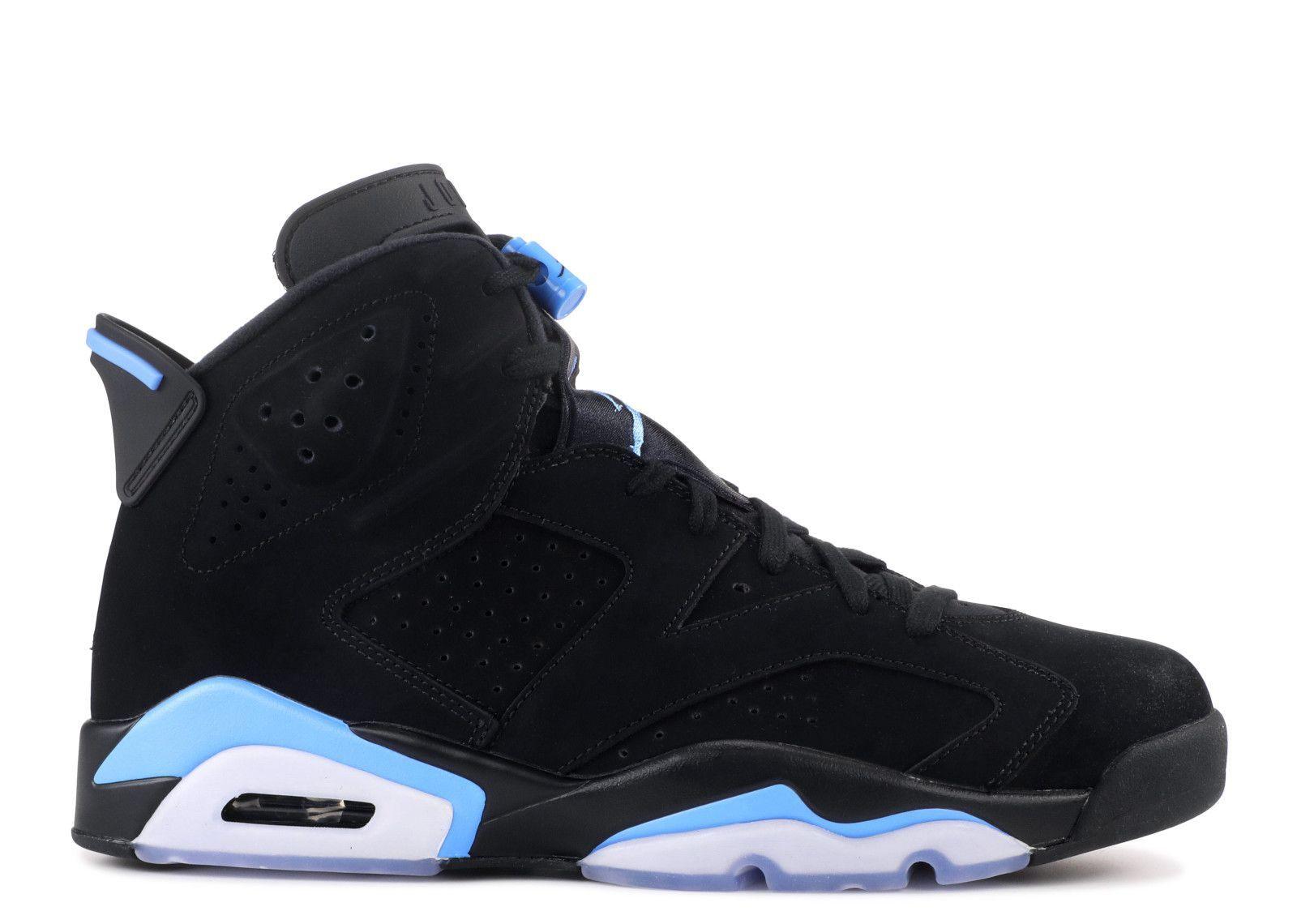Air Jordan 6 Retro Unc Air Jordan 384664 006 Black University Blue In 2020 Jordan Shoes Girls Nike Air Shoes Shoes Sneakers Nike