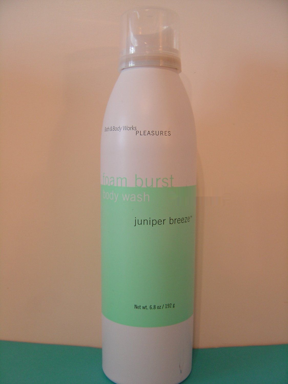 Bath And Body Works Juniper Breeze Foam Burst Wash Full Size