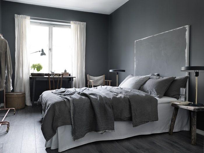 30 уютных спален для самых сладких снов | Темно-серая ...