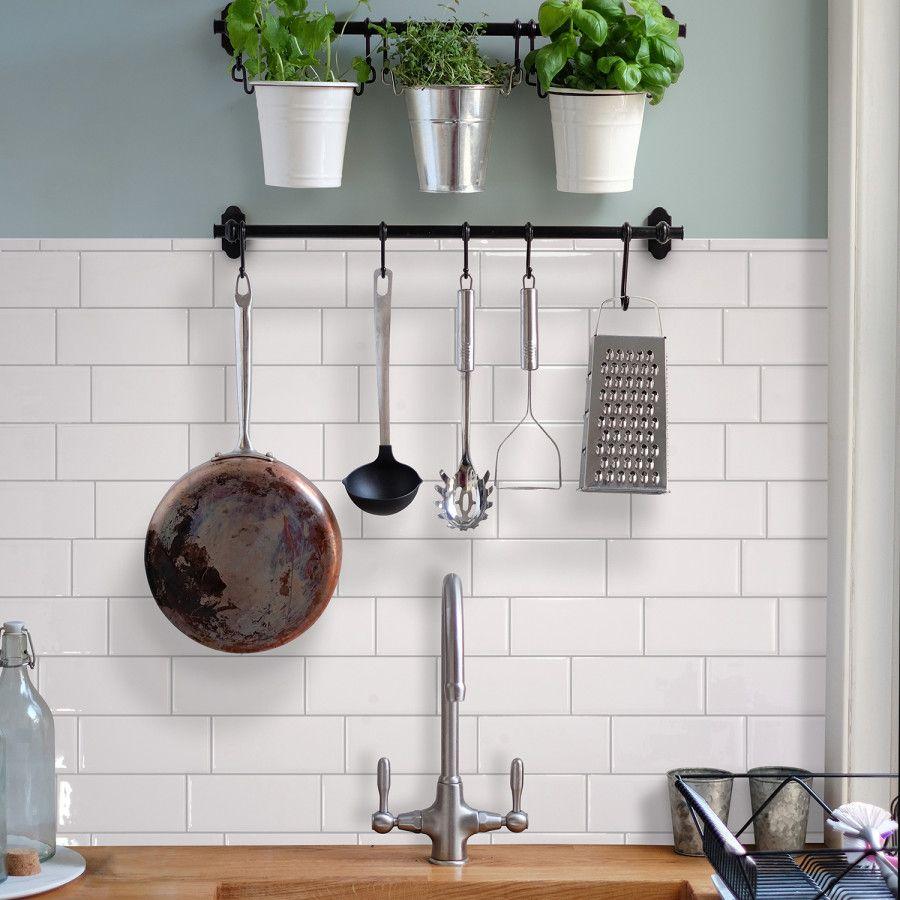 Metro Campagnola Smart Tiles Kitchen Backsplash And Kitchens