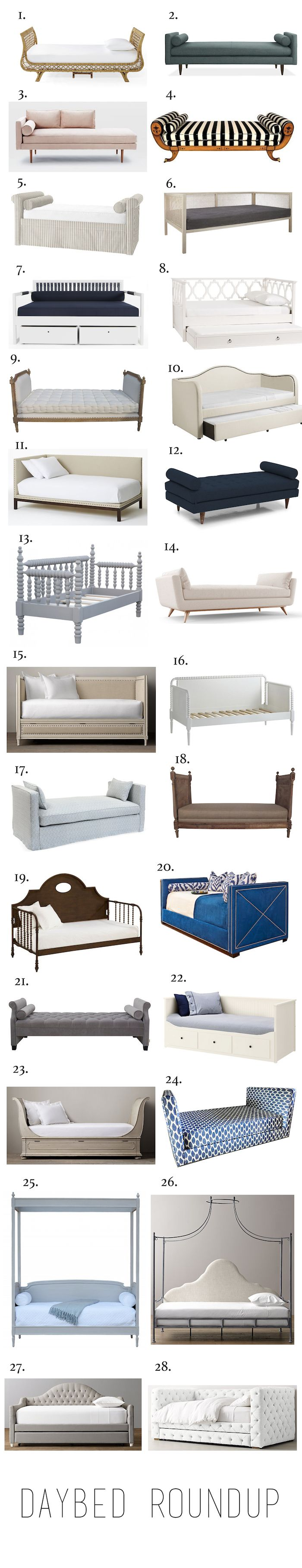 Roundup Daybeds in Every Style & Price