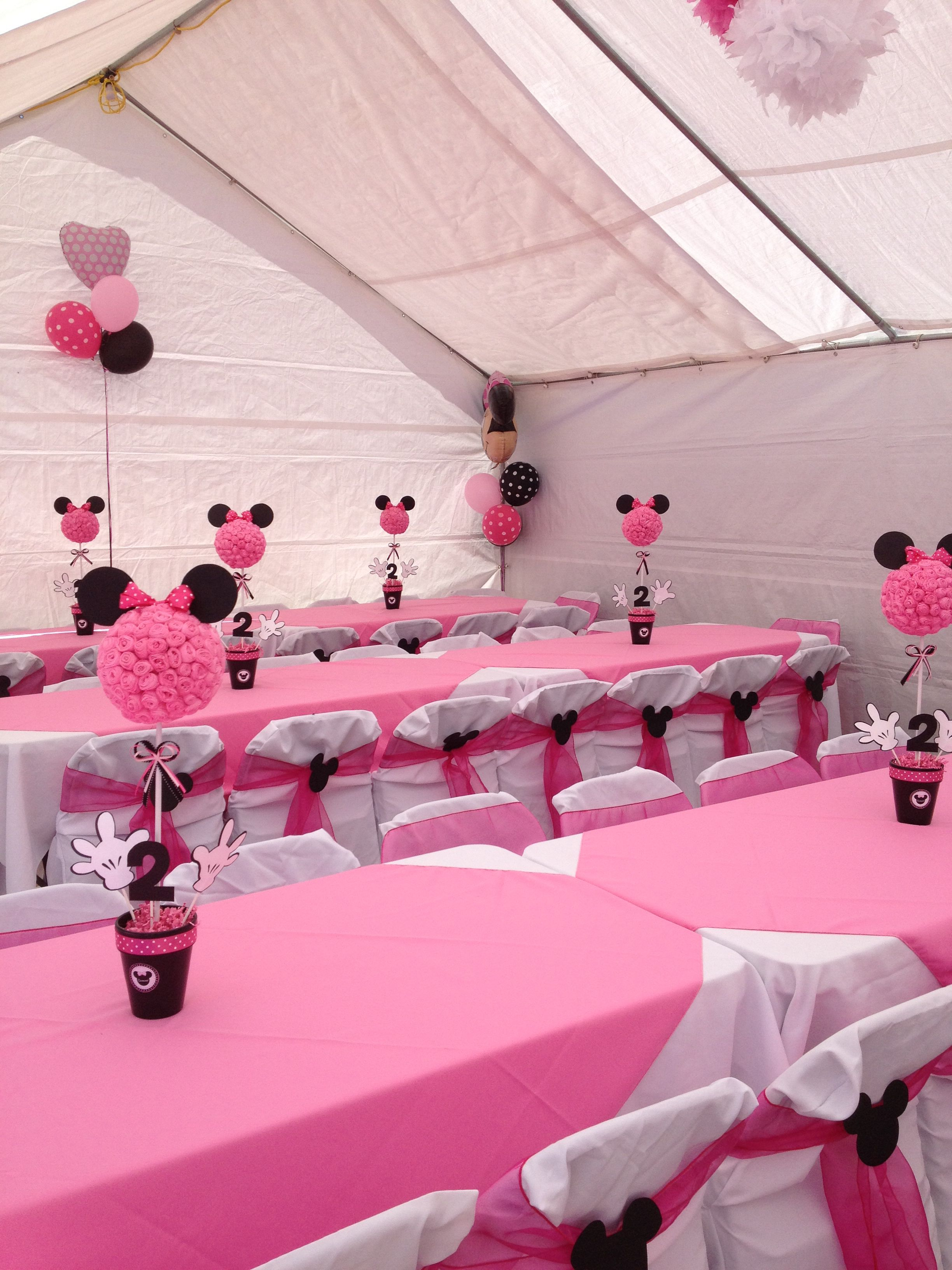 Pin By Anais Linant On Minnie Mouse Minnie Mouse Theme Party Minnie Birthday Party Minnie Mouse Birthday Party