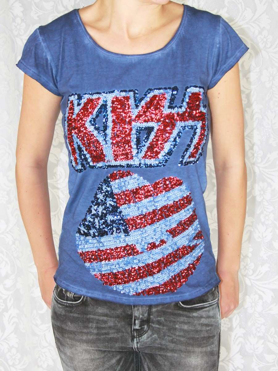 Kiss Washed Top € 16,95 https://www.justyourstyle.nl/kiss-washed-top