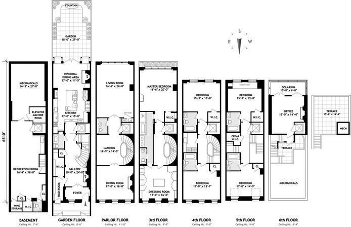 For Sale 128 East 74th St In Upper East Side New York Apartment Luxury Hotel Side House Layout Plans