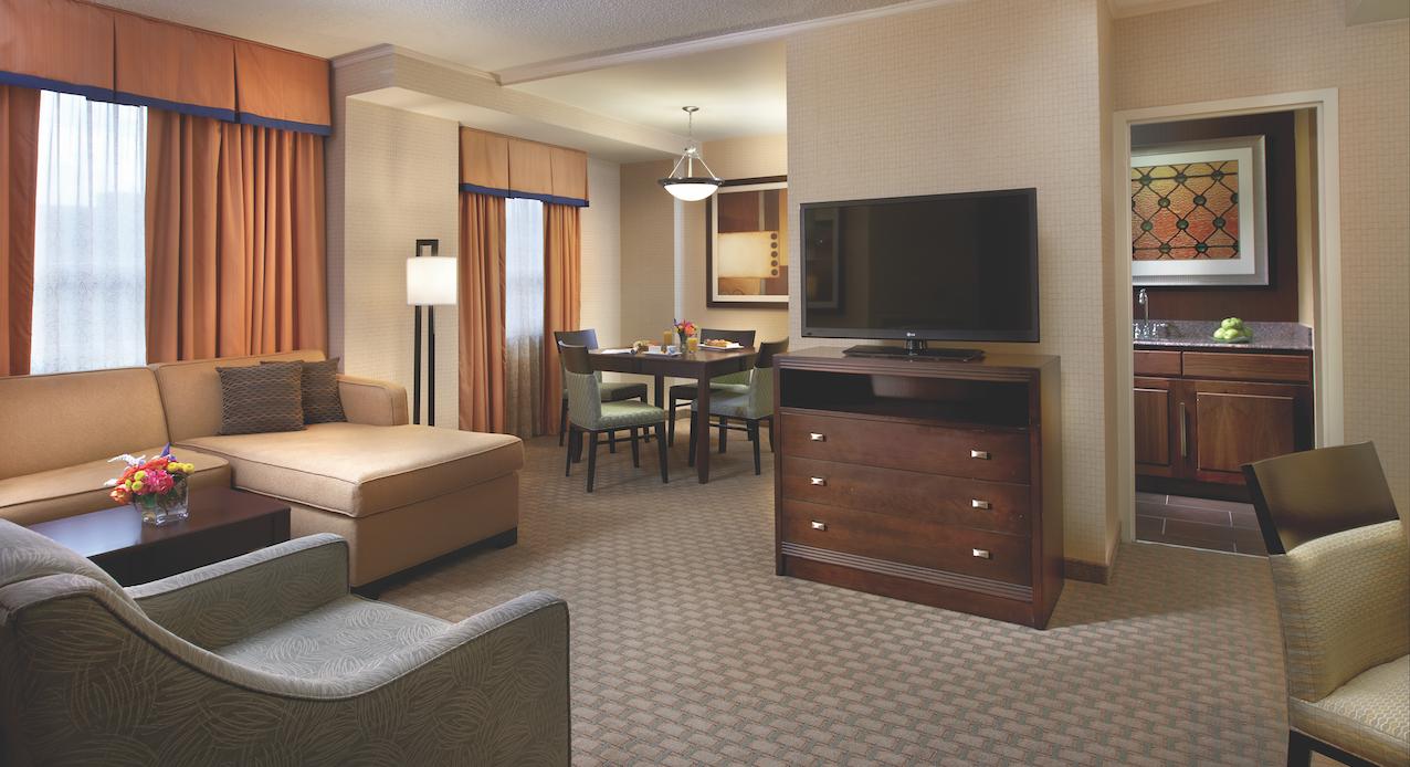 Embassy Suites Baltimore Inner Harbor Embassy Suites Suites Room