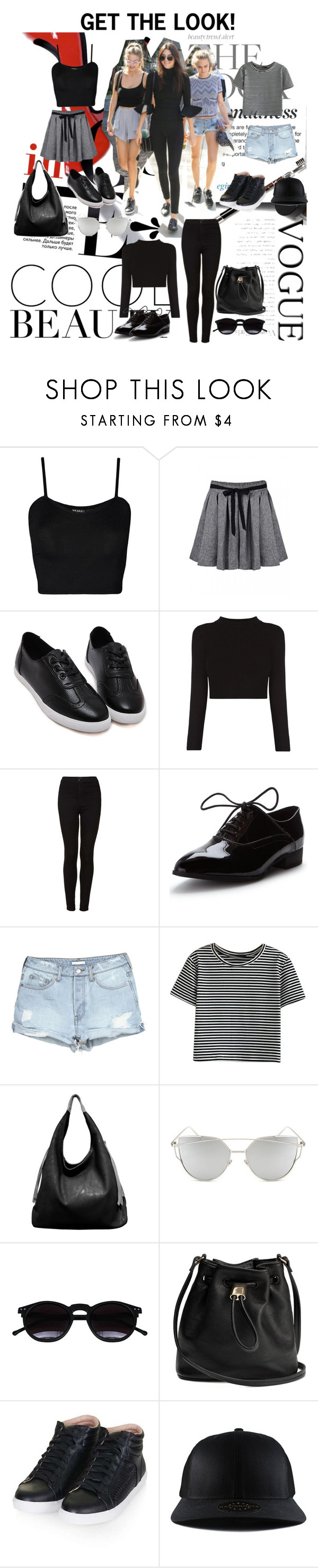 """Power three ❤️"" by bungayaj on Polyvore featuring WearAll, Topshop, WithChic, Urban Originals and Chicnova Fashion"