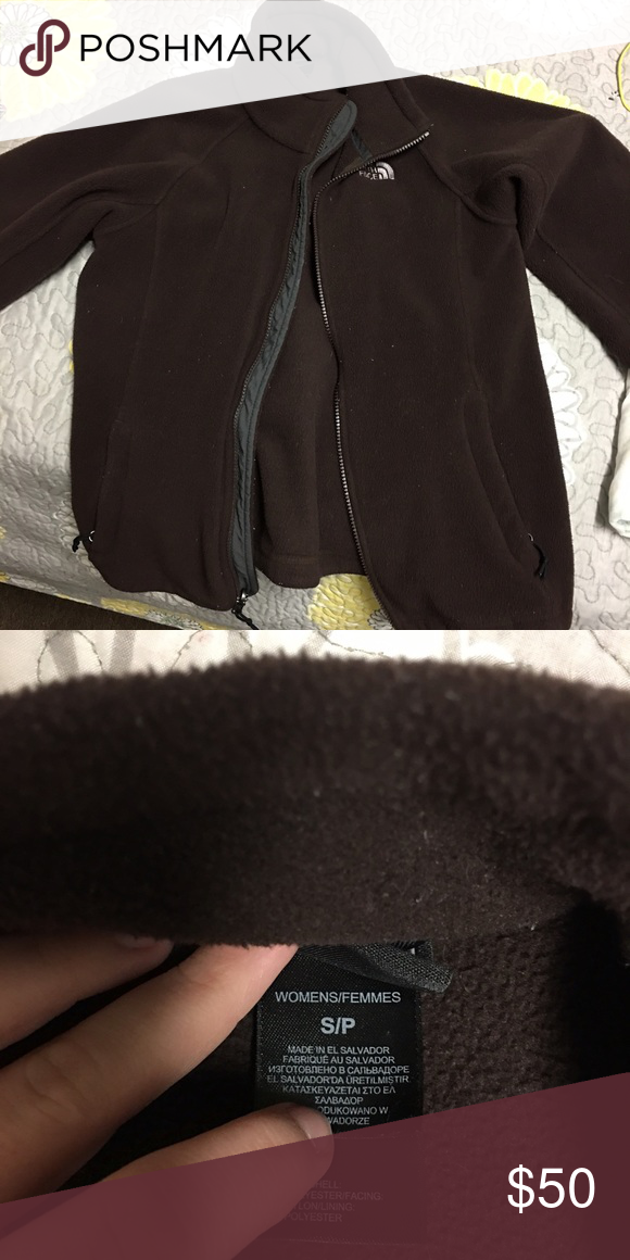 Zip up North Face Jacket Like new! Love it I just have too many jackets. North Face Jackets & Coats