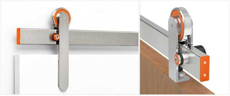 Krown Lab Oden Frameless Glass Sliding Doors Indoor Sliding Doors