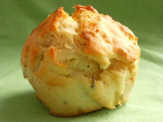 Feta, Onion & Rosemary Muffins