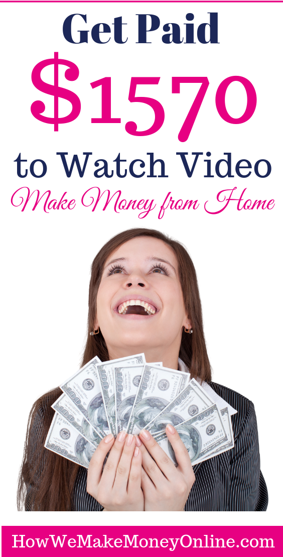 Get Paid $1570 to Watch Video! | Be Your Own Boss | Earn money from