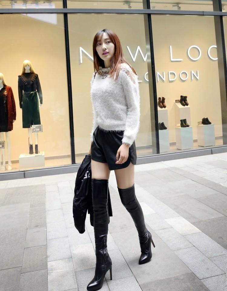Fashion Girls In Leggings Asian Fashion Models Asian Woman