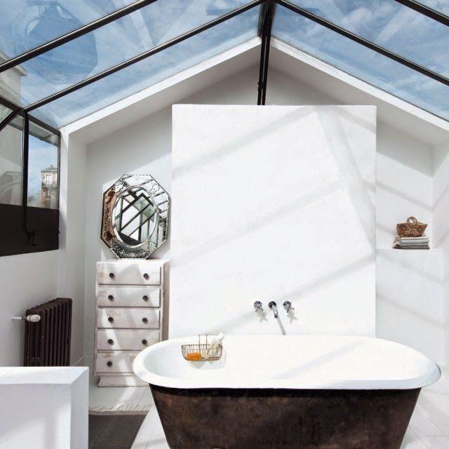 Keltainen talo rannalla | Inspiración para baños, Casas y ...