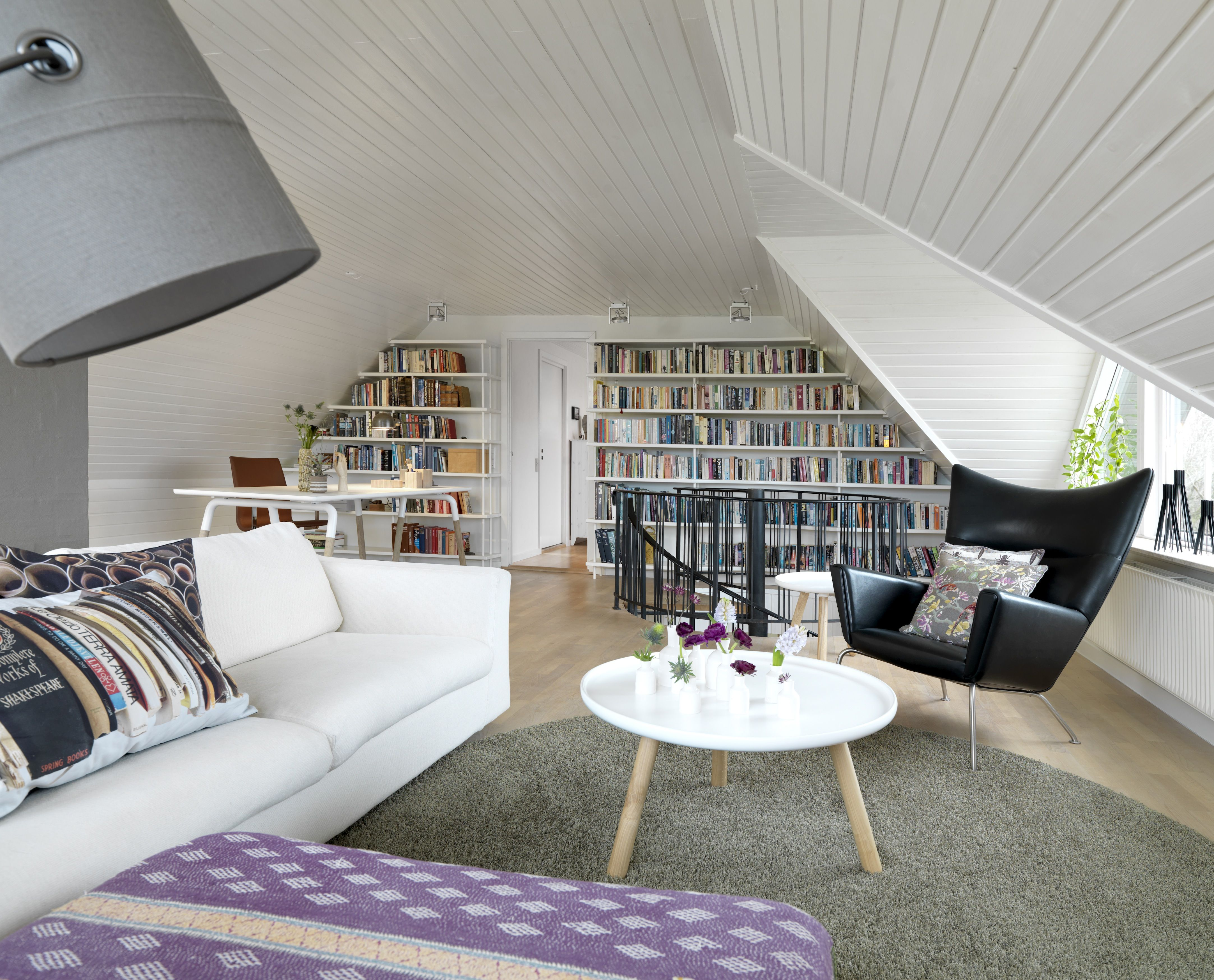 Living with books - for design magazine