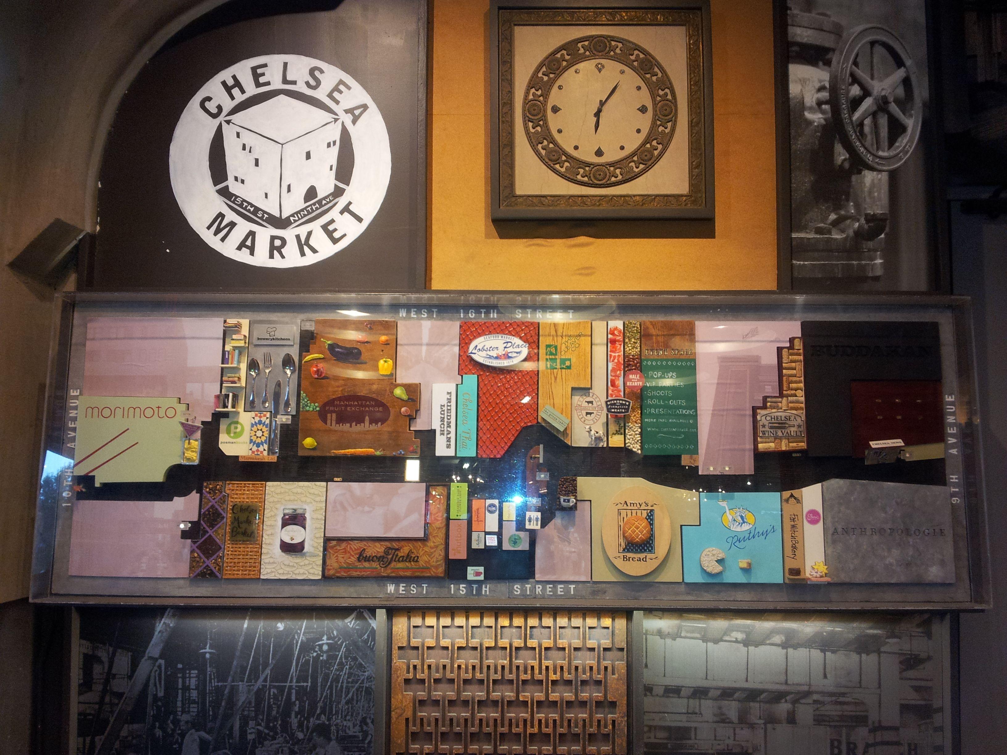 Chelsea Market (75 9th Avenue, NYC, NY):  If you love food, you must go to Chelsea Market if you go to New York City.