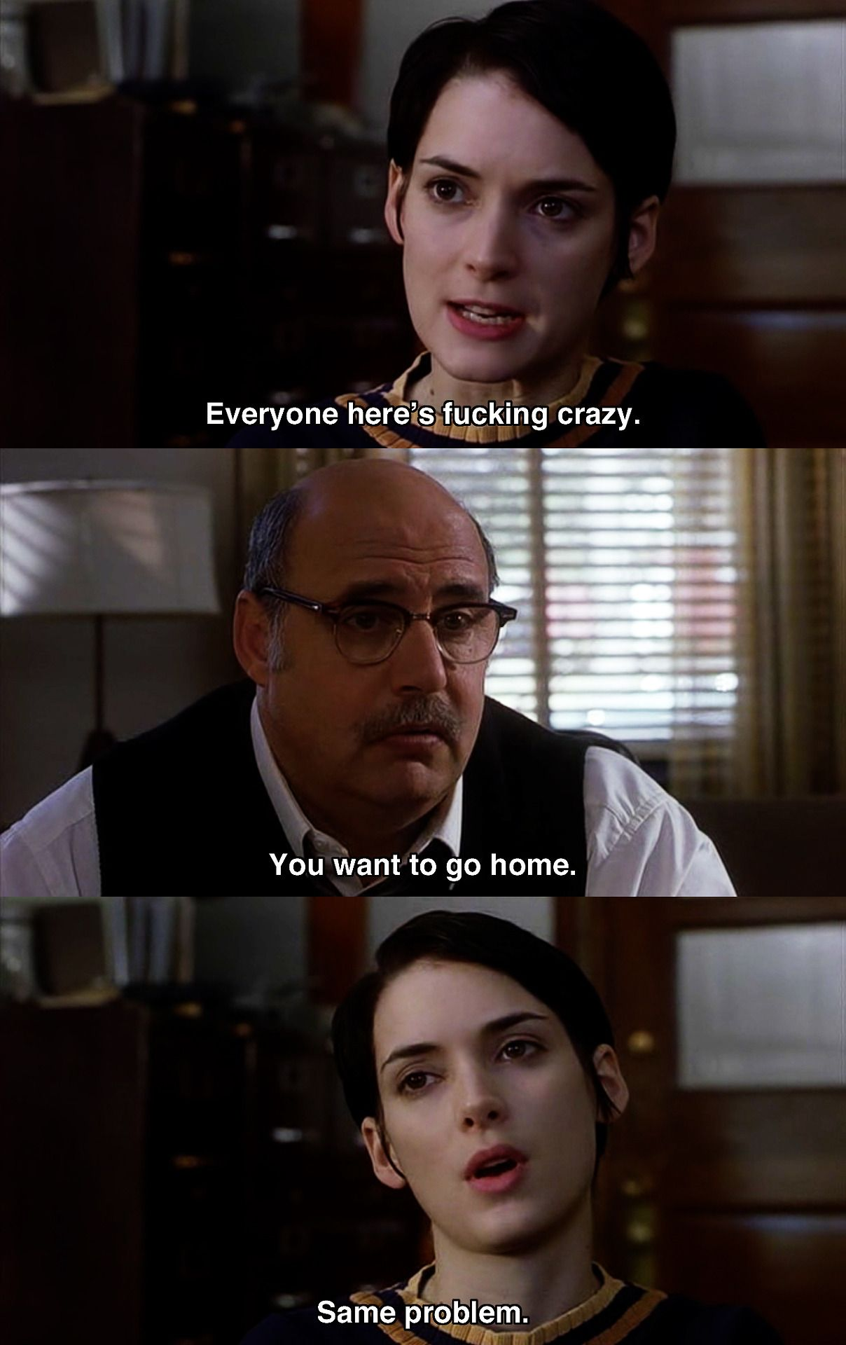 Pin By Jennifer Flores On Movies Shows Girl Interrupted Girl Interrupted Quotes Interrupting Quotes
