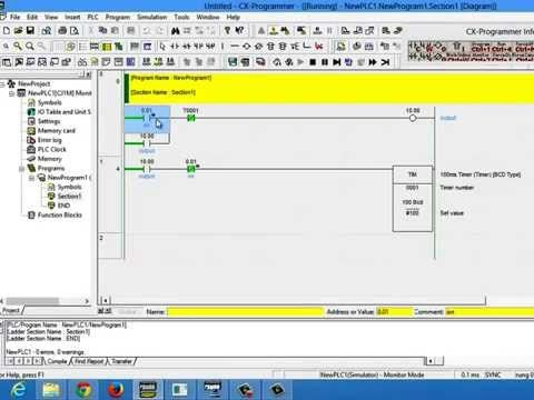 Make Omron PLC Program using CX-Programmer about Battery