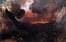 John Martin, Great day of his wrath.....hangs on my wall :)