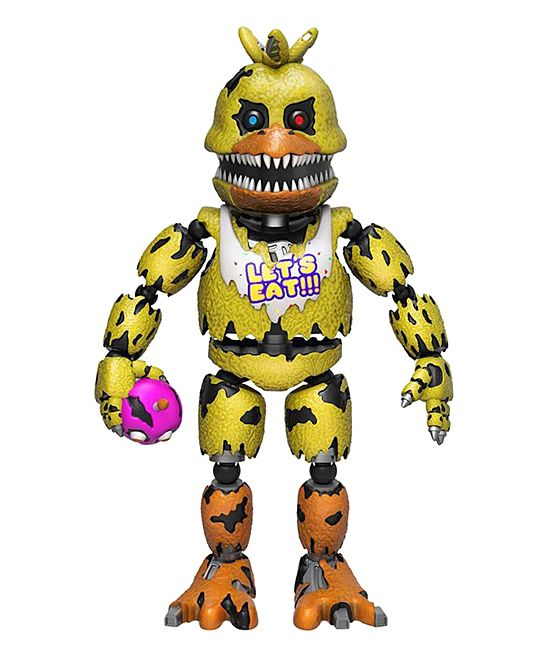 FNAF Nightmare Chica 5'' Action Figure