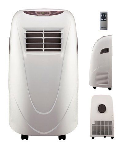 11000 Btu Portable Air Conditioner By Shinco 299 00 Auto Evaporation Fu Portable Air Conditioner Room Air Conditioner Portable Air Conditioning Installation