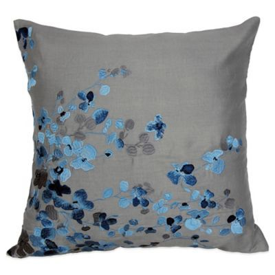Bed Bath And Beyond Decorative Pillows Simple Bed Bath & Beyond Hycroft Embroidered Square Throw Pillow  Throw Design Decoration