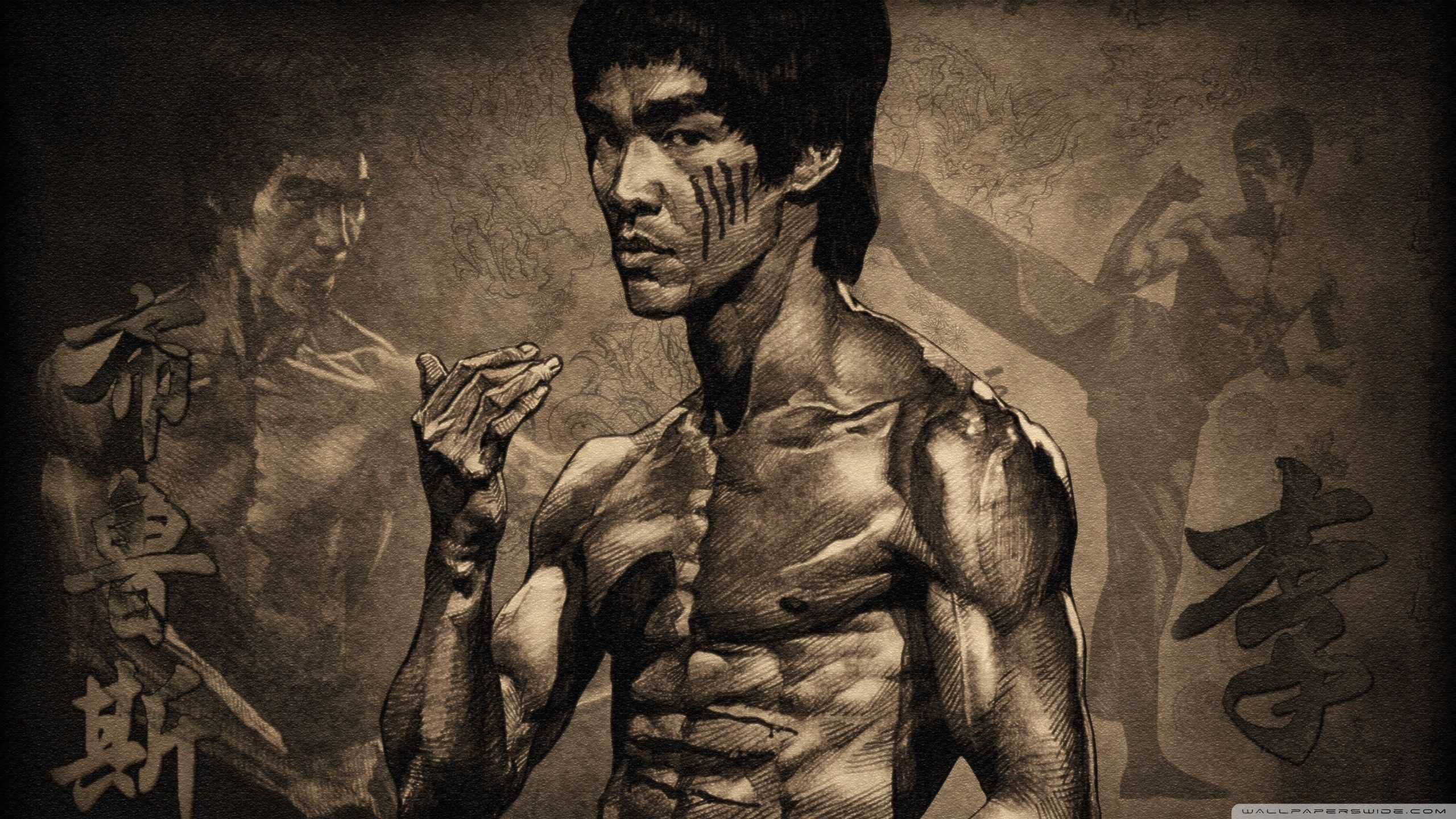 KING OF MARTIAL ARTS [2560 x 1440] Bruce lee, Martial