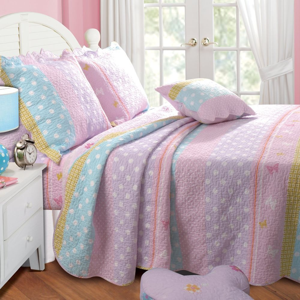 and p peace bed a bedding love pink comforter set eht retro sign twin ensemble girls bag blue in
