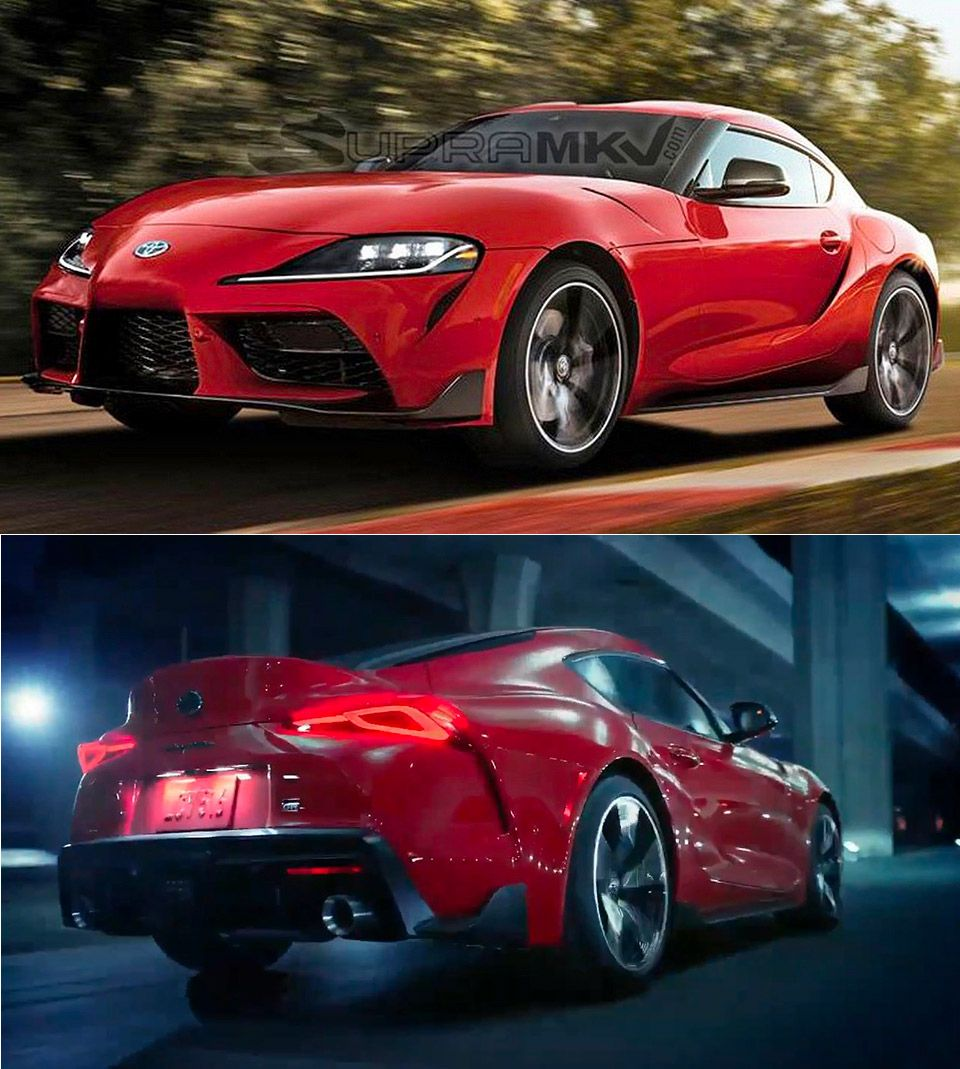 A first look at the 2020 Toyota Supra... Toyota supra