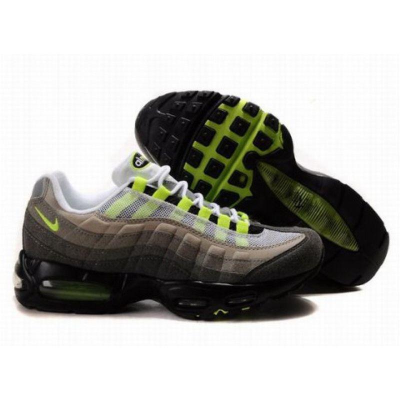 c4a25d19542d Nike Air Max 95 Black Green D06001