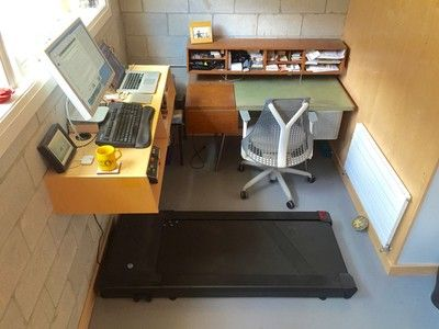 Standing desks are so yesterday; try a treadmill desk for a really - balkon ideen blumenkasten gelander