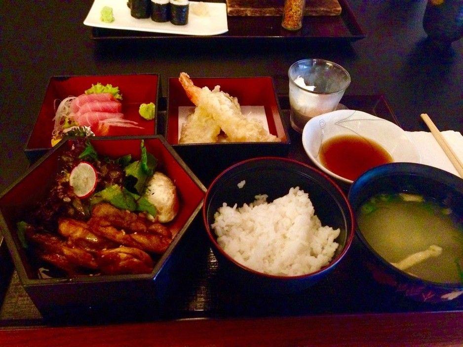 Chicken teriyaki bento box yuuga g taa building