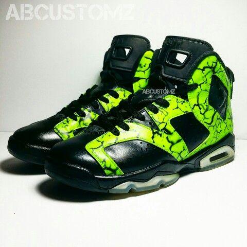 on sale 80479 52f5a Custom Jordan 6. Hulk Smash