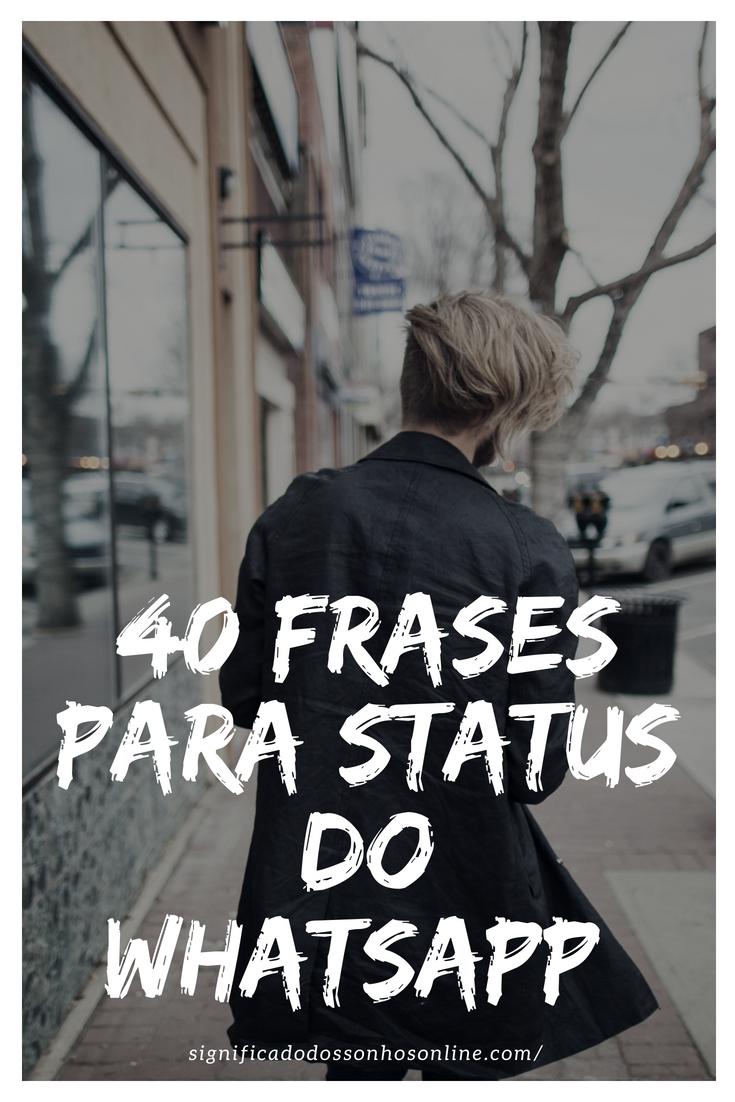As Melhores Frases Para Status Do Whatsapp Frases Status